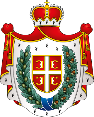 Traditional coat-of-arms of the AP Vojvodina